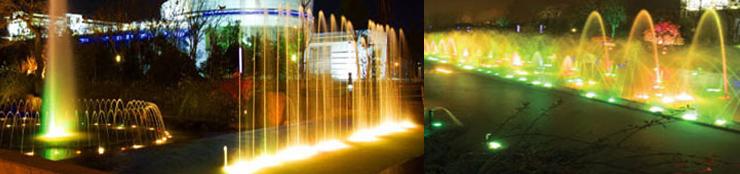 厚屹嵌入式LED水底灯HY-E290-252七彩水底灯