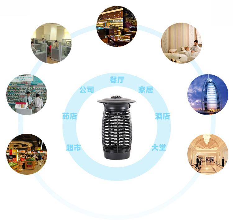 厚屹LED光触媒灭蚊灯高效家用灭蚊器