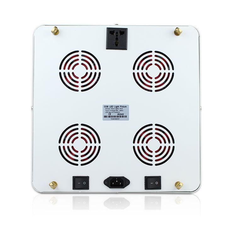 CREE LEDqy288千赢国际灯透镜qy288千赢国际生长灯背面散热细节图片展示
