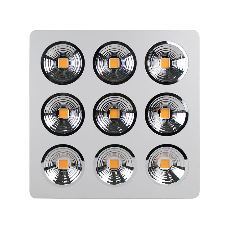 qy288千赢国际生长灯之全光谱LEDqy288千赢国际灯九孔反光杯设计图片展示